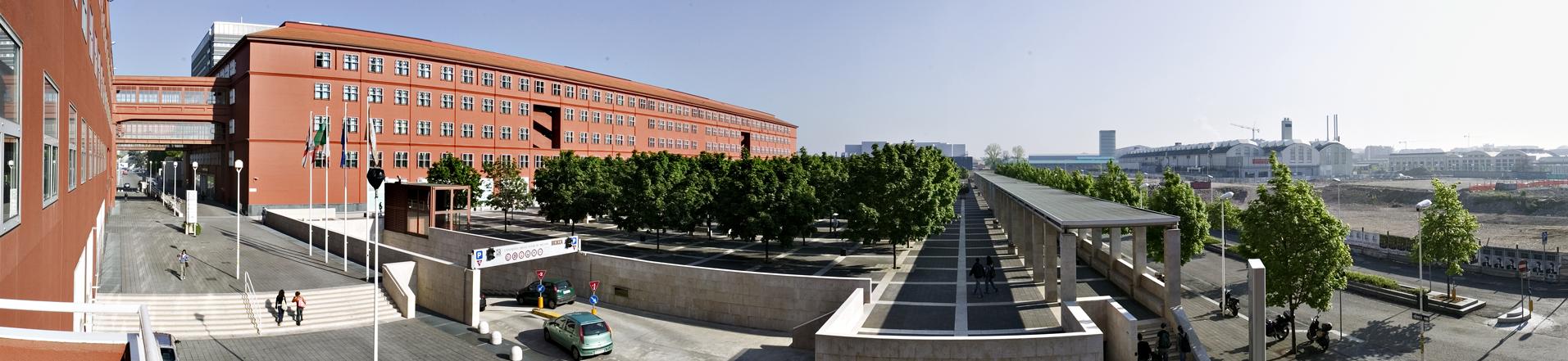 Università Bicocca U7-U6 foto aerea