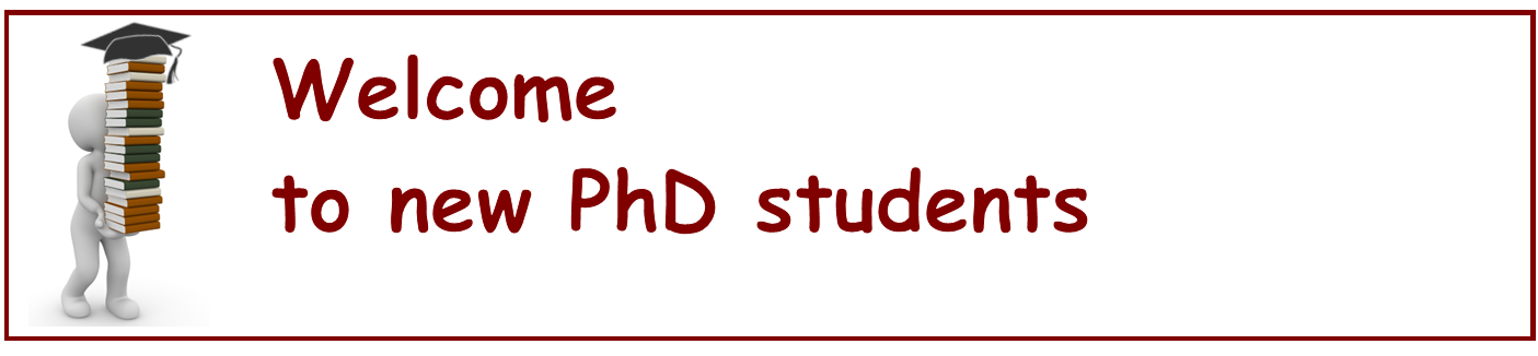 PhD welcome 2020